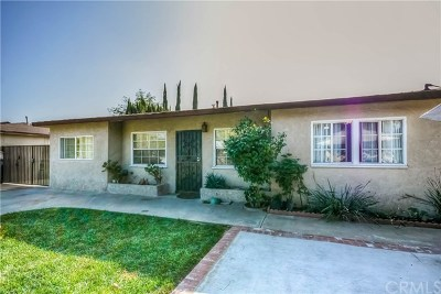 Pomona Single Family Home For Sale: 1552 Arroyo Avenue