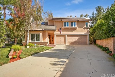 La Verne Single Family Home For Sale: 6166 Meadow Lark Drive