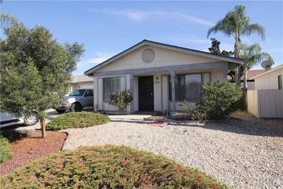 Sun City Single Family Home For Sale: 28180 Chula Vista Drive