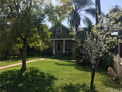 Pomona Single Family Home For Sale: 1729 N San Antonio Avenue