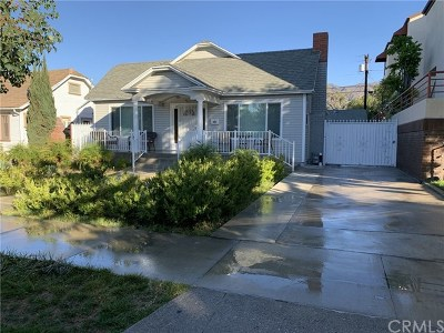 Glendale Single Family Home For Sale: 621 Palm Drive