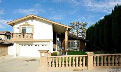 Diamond Bar CA Single Family Home For Sale: $799,000