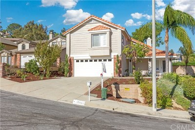 Chino Hills Single Family Home For Sale: 15604 Obsidian Court