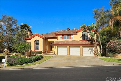 Chino Hills Single Family Home Active Under Contract: 14024 Giant Forest