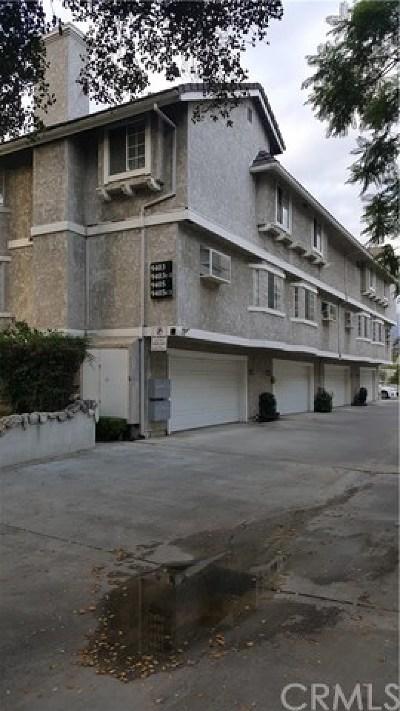 San Gabriel Condo/Townhouse For Sale: 9403 Duarte Road