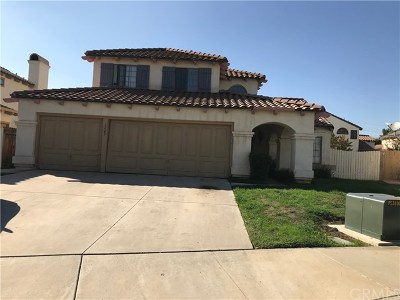 Moreno Valley Single Family Home For Sale: 15565 Gorrion Court