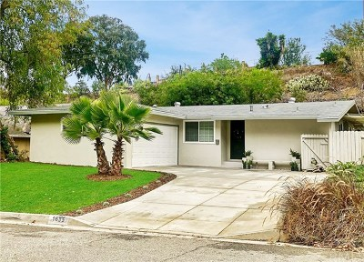 West Covina Single Family Home For Sale: 1635 E Autumn Drive