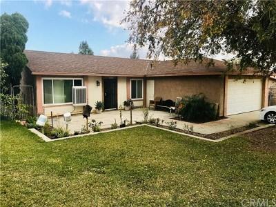 Fontana Single Family Home For Sale: 7701 Palo Verde Avenue