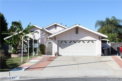 Pomona Single Family Home For Sale: 1677 Redbud Place