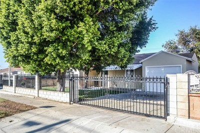 La Puente Single Family Home For Sale: 16933 Inyo Street