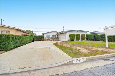 Hacienda Heights Single Family Home For Sale: 1445 Lyndhurst Avenue