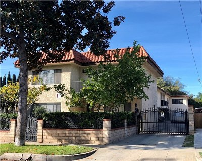 Pasadena Multi Family Home For Sale: 65 N Craig Avenue
