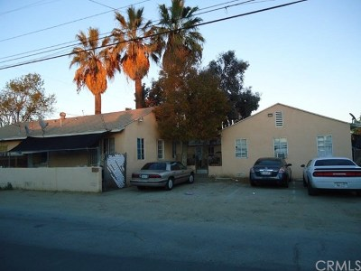 Moreno Valley Multi Family Home For Sale: 21759 Dracaea Avenue