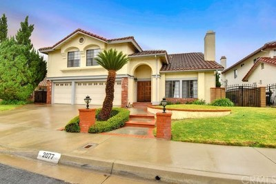 Rowland Heights Single Family Home For Sale: 2077 Cartago Court