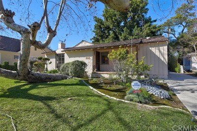 San Marino Single Family Home For Sale: 2585 S Sycamore Drive