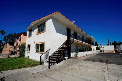 Santa Ana Multi Family Home For Sale: 2001 W Myrtle Street