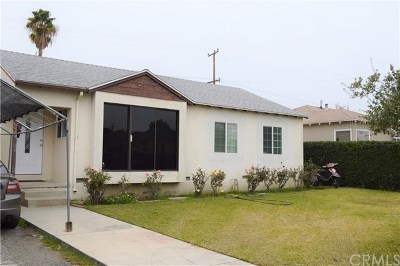South El Monte Single Family Home For Sale: 1441 Seaman Avenue