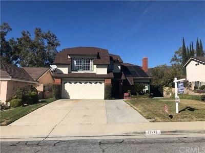 Walnut Single Family Home For Sale: 18945 Cedar Ridge Court