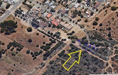 Lake Elsinore Residential Lots & Land For Sale: Page St (Lot 005)