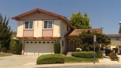 Monterey Park Single Family Home For Sale: 724 Topacio Drive