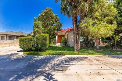 Chino Single Family Home For Sale: 12787 Ramona Avenue