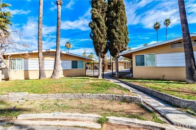 Riverside, Temecula Multi Family Home For Sale: 412 Glen Avenue