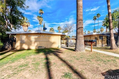 Riverside, Temecula Multi Family Home For Sale: 1175 Villa Street
