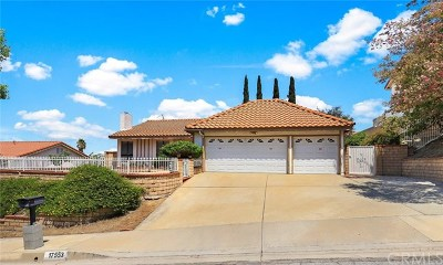 Rowland Heights Single Family Home For Sale: 17553 Candela Drive