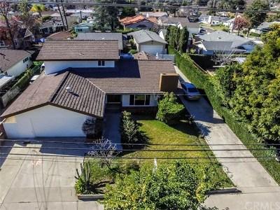San Gabriel Single Family Home For Sale: 6521 N Muscatel Avenue