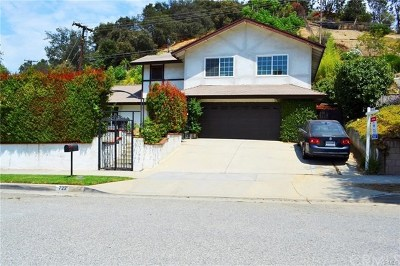 Glendora Single Family Home For Sale: 722 Hunters