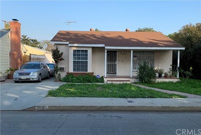 Long Beach CA Single Family Home For Sale: $488,000