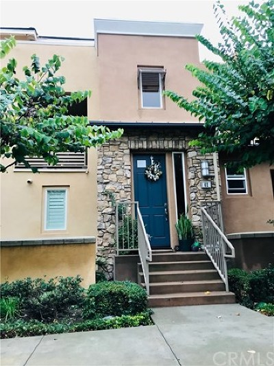 Aliso Viejo Condo/Townhouse Active Under Contract: 62 Colonial Way