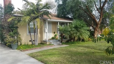 Pomona Single Family Home For Sale: 1537 Mc Comas Street