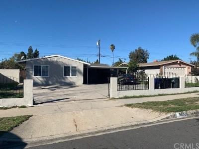Ontario Single Family Home For Sale: 623 Calaveras Avenue