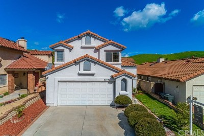 Chino Hills Single Family Home For Sale: 6358 Sunny Meadow Lane