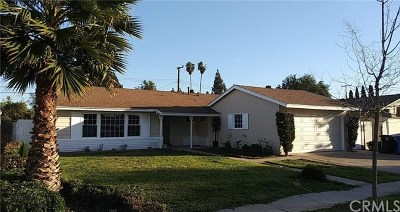 Tustin Single Family Home For Sale: 14052 Woodlawn Avenue