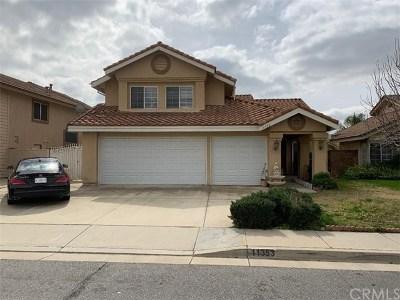 Rancho Cucamonga Single Family Home For Sale: 11353 Verona Drive