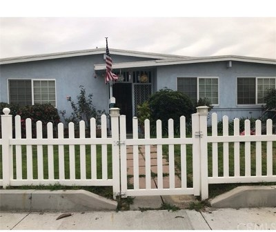 La Puente Single Family Home For Sale: 1276 Millbury Avenue