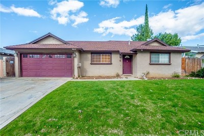 Corona Single Family Home For Sale: 1637 Brentwood Drive