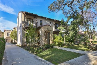 Pasadena Condo/Townhouse For Sale: 71 N Bonnie Avenue #1