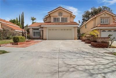 Corona Single Family Home For Sale: 581 Hamilton Drive
