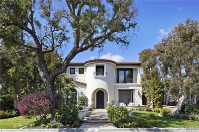 Newport Beach Single Family Home For Sale: 531 Tustin Avenue