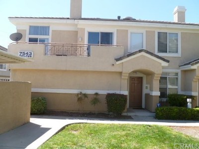 Fontana Condo/Townhouse For Sale: 7543 W Liberty #726