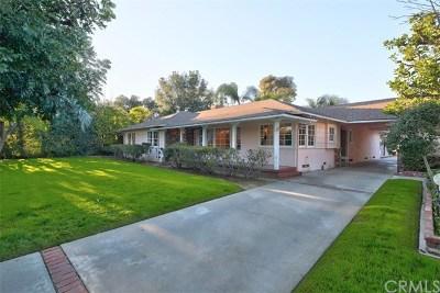 Arcadia Single Family Home For Sale: 151 W Las Flores Avenue