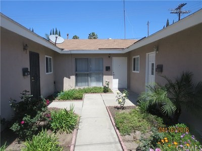 Los Angeles Single Family Home For Sale: 353 E 81st Street