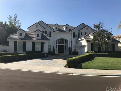 Yorba Linda Single Family Home For Sale: 3353 Gardenia Lane