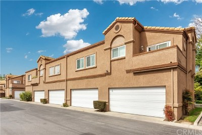Chino Hills Condo/Townhouse Active Under Contract: 14704 Moon Crest Lane #E