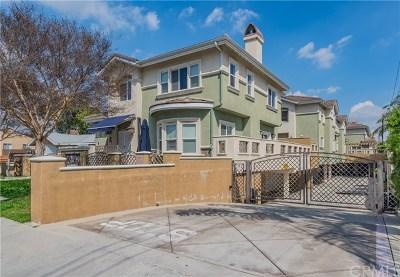 Monterey Park Condo/Townhouse For Sale: 332 S Orange Avenue #C
