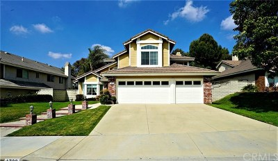 Chino Hills Single Family Home For Sale: 1720 Morning Terrace Drive