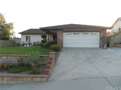 Walnut Single Family Home For Sale: 335 San Roque Drive